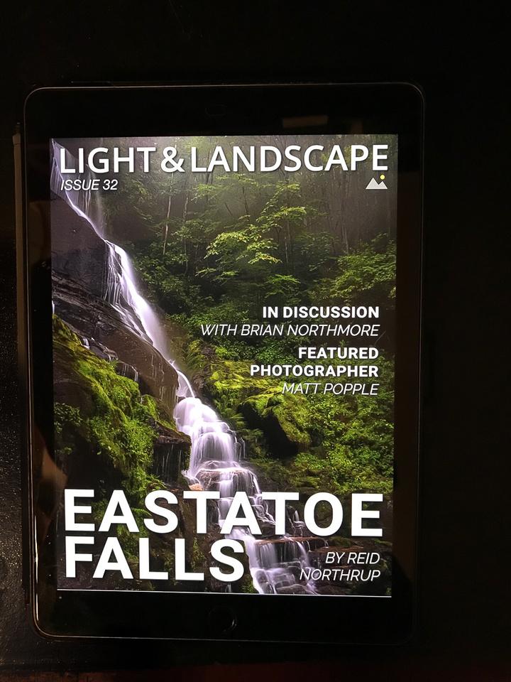 Light and Landscape - October 2017