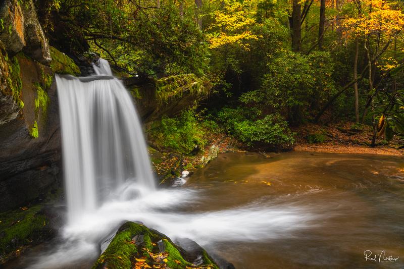 Raper Creek Falls Oct. 2018
