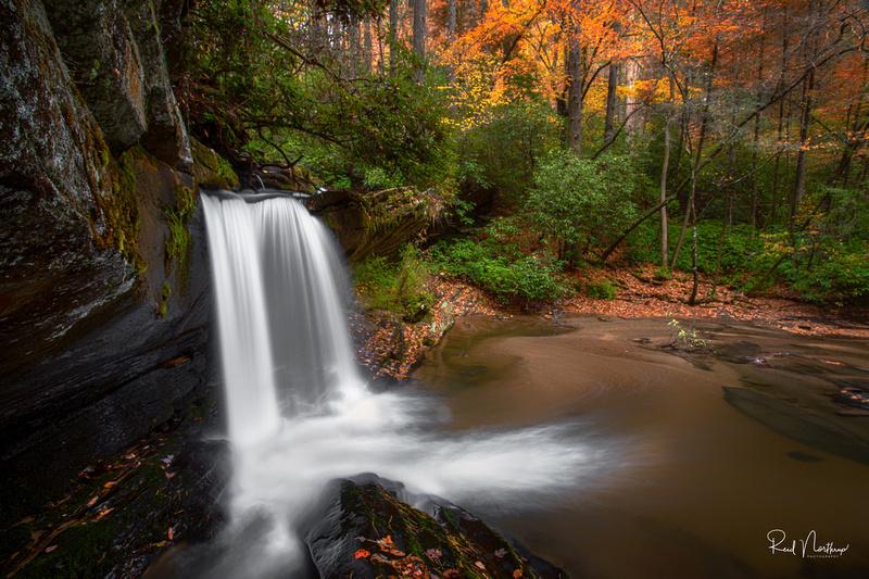 Raper Creek Falls Oct. 2019