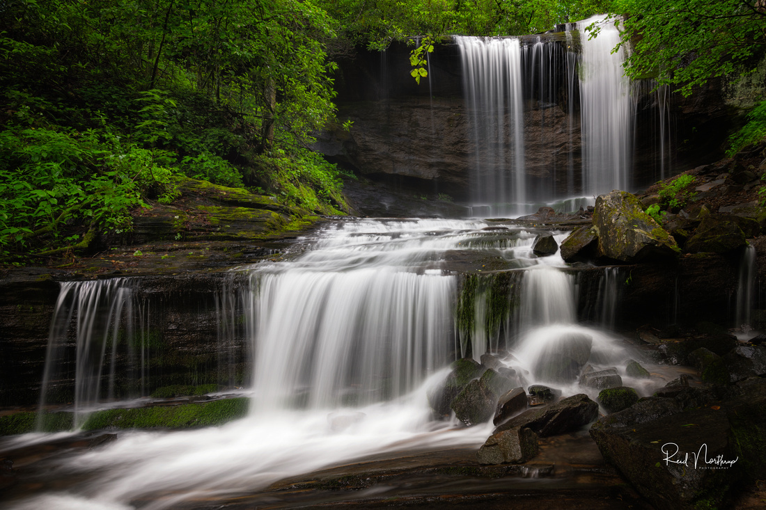 Grassy Creek Falls - June 2020